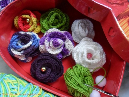 Crochet Bross Roses