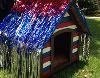 4th of July Dog House