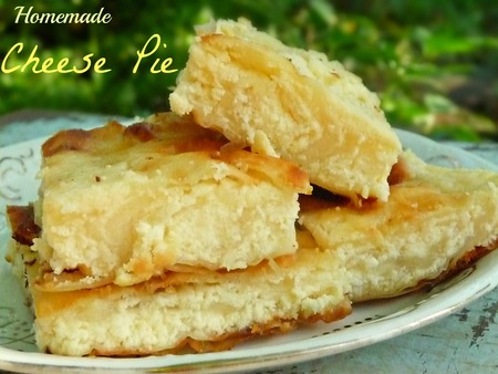 Simple Homemade Cheese Pie Recipe