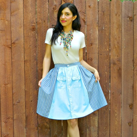 The Best Men's Shirt Skirt DIY