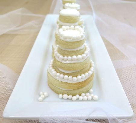 Cookie Wedding Cakes