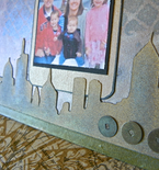 Reversible mini scrapbook board