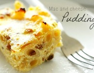 Macaroni and cheese pudding