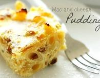 Macaroni and cheese pudding