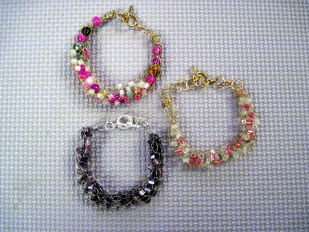 French Knit Bracelets