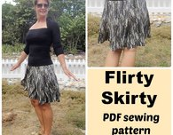 The Flirty Skirty – 10 gored skirt pattern