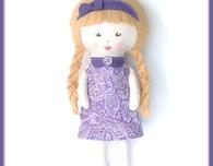 Little Violet Rag Doll