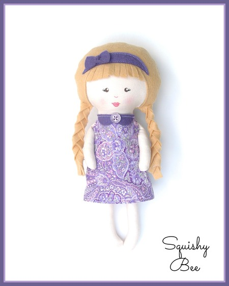 Little Violet Rag Doll