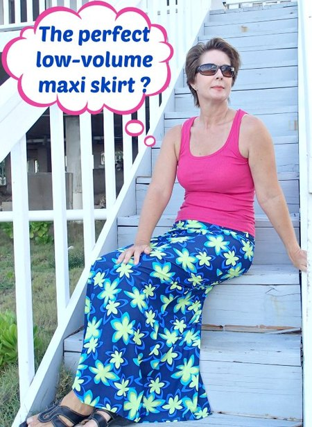 The perfect maxi skirt pattern