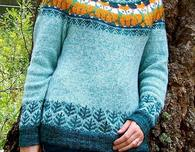 Foxy Sweater Knitting Pattern