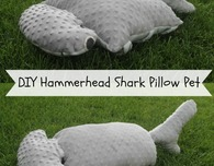 Hammerhead Shark Pillow pattern