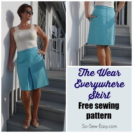 The wear everywhere skirt pattern