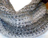 Easy to Crochet Infinity scarf or cowl pattern