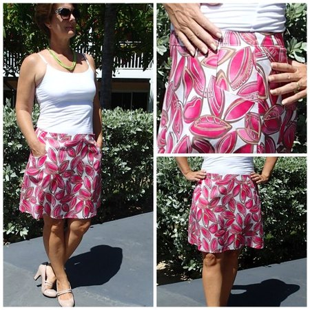 Show some flare A-Line Skirt pattern