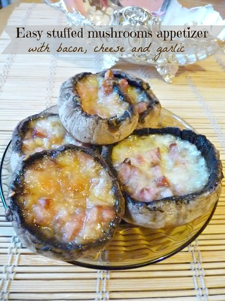 Easy stuffed mushrooms appetizer
