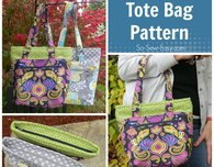 The Lucy tote bag pattern