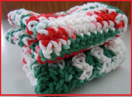 Crochet Dishcloth Pattern