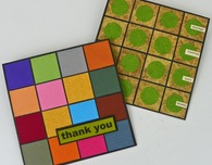 Paper Mosaic Greeting Cards