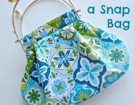 Made in a Snap – easy bag pattern