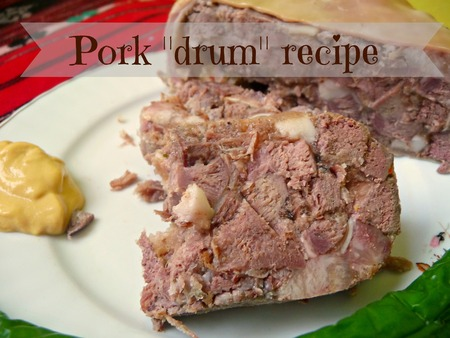 "Pork ""drum"" recipe"