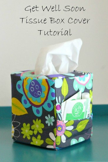Get well soon tissue box cover pattern