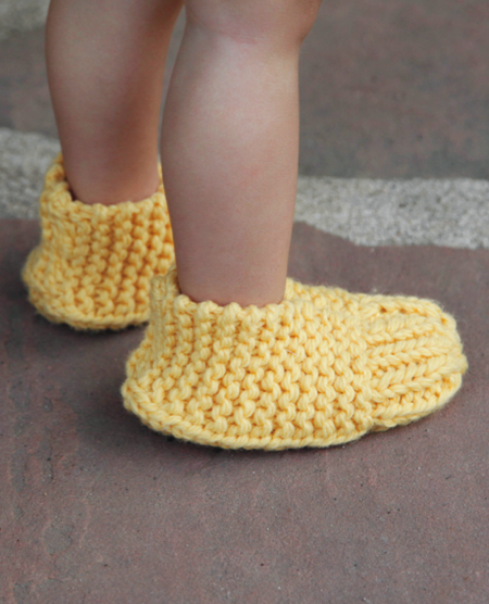 1 Hour Knitted Slippers