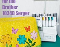 Sew a cover for the Brother 1034d serger