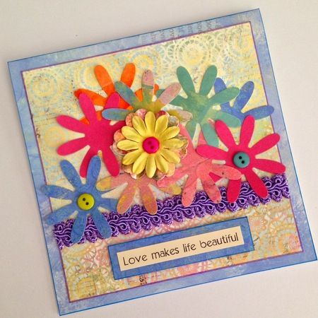 Springtime handmade greeting cards