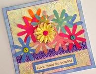 Springtime handmade greeting cards