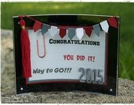 DIY Graduation Frame with Tassel