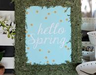 Spring Photo Frame