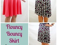 Free skirt pattern – The Flouncy Bouncy Skirt