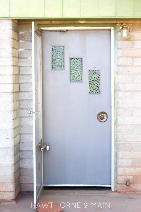 Entry Door Makeover Part 1