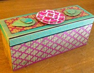 Decorated Paper Box