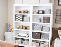 Beautiful Craft Storage Space