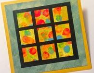 Thumbprint Mosaic Greeting Card