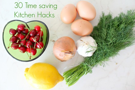 30 Kitchen hacks that will save you time and money