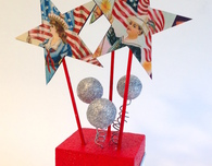 4th of July tabletop decoration