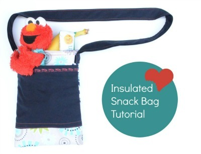 Insulated Snack Bag Tutorial