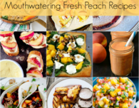 Best Peach Recipes using fresh peaches