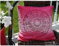 DIY No Sew Pillows to DYE for