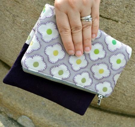 Fold over clutch bag pattern