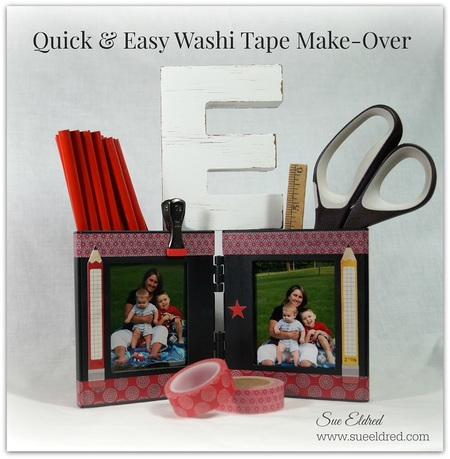 Quick and Easy Washi Tape Make-Over