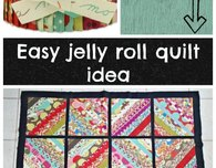 Serger jelly roll quilt