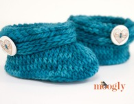 Ups and Downs Toddler Booties