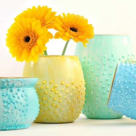 Gorgeous Flower Vases DIY