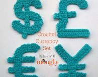Moogly Crochet Currency Set
