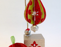 Paper Holiday Ornaments