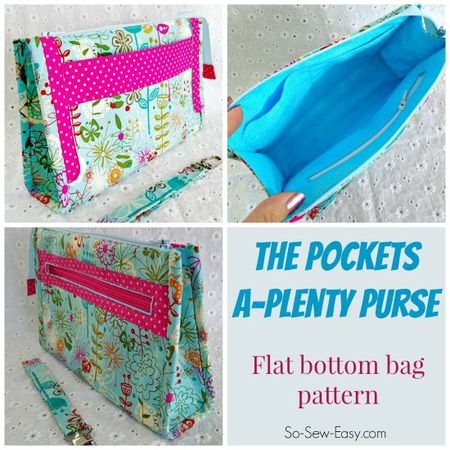 The Pockets A-Plenty purse pattern