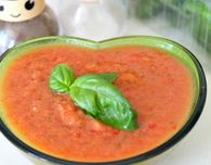Best cold tomato soup - Spicy Gazpacho